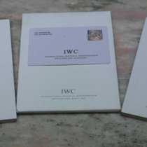 IWC vintage kit warranty card papers booklet ingenieur 3725