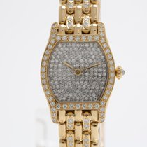 Cartier Rare Vintage Paris Tortue Diamond Ladies Watch