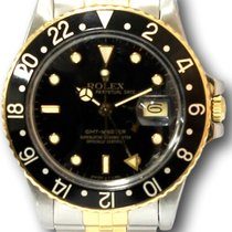 Rolex GMT Master Two Tone Vintage 1986 Model 16713