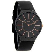 Rado True Thinline Unisex Black Ceramic Swiss Quartz Watch...
