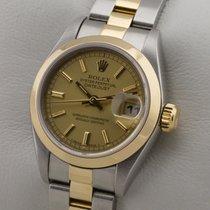 Rolex LADY DATEJUST EDELSTAHL 18K GOLD GELBGOLD DAMENUHR