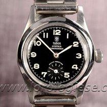 튜더 (Tudor) Oyster Commander Ref. 3136 Military Style Watch...