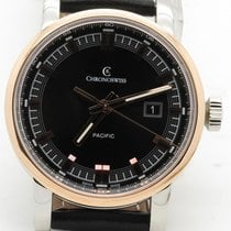 Chronoswiss Grand Pacific Ch2882br-bk 18k Rose Gold &...