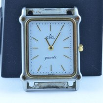 Ebel Classic Wave Herren 24mm X 35mm  Stahl/gold Rar Ohne...