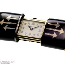 Movado for Mappin & Webb Ermeto Vintage Travellers Clock...