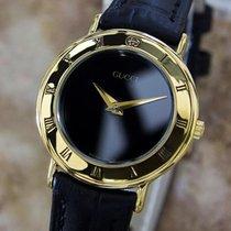 Gucci 3000.2L Swiss Made Ladies 26mm Quartz Gold Plated Dress...