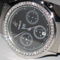 Hublot Bang MDM Stainless Steel Chronograph Diamonds