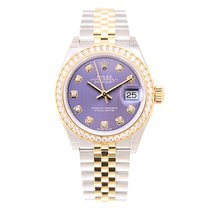勞力士 (Rolex) Lady Datejust Gold And Steel Purple Automatic...