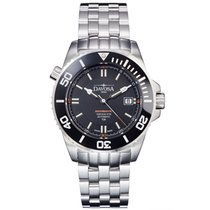 Davosa Swiss Argonautic Lumis TRITIUM 16150920 Men Wrist Watch...