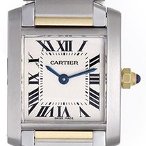 Cartier Tank Francaise Ladies 2-Tone Watch W51007Q4