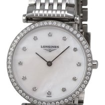 Longines La Grande Classique Diamond Womens Watch Mother-of-Pe...