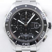 TAG Heuer Aquaracer 500M Chronograph Datum Schnellschaltung...
