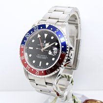 Rolex GMT Master II 16710BLRO Box and Papers FULL SET PEPSI