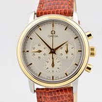 Omega Deville Prestige Chronograph Two Tone Manual Wind...