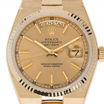 Ρολεξ (Rolex) Day Date Oysterquartz Gelbgold Quarz Armband...