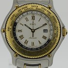 Ebel Voyager Automatik GMT Stahl/Gold
