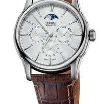 Oris Artelier Complication '14 Leather Bracelet