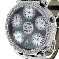 Jacob & Co. . Five Time Zones World Time Monster Diamantbe...