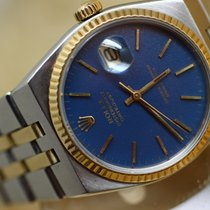 롤렉스 (Rolex) Oyster DateJust Quartz Blue Dial 17013