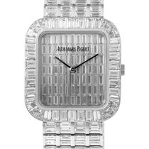 Audemars Piguet AP 18K Solid White Gold Baguette Diamonds