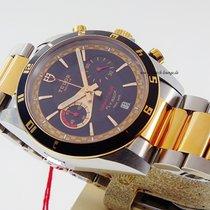 Tudor Grantour Flyback Chrono steel rosé gold 20551N unworn