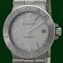 Bulgari Diagono 35mm Automatic Date Stainless Steel