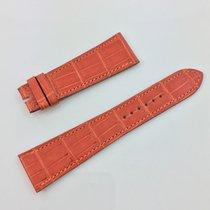 Hermès Paris Uhren Armband  Band Kroko Orange 23 / 17