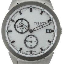 Tissot T-Sport Titanium GMT White Steel 43