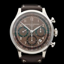 Baume & Mercier Capeland Stainless Steel Gents MOA1003 -...
