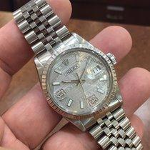 Rolex Datejust Men's Stainless Steel Watch 36mm Diamond...