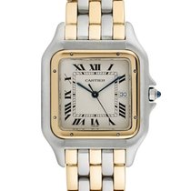 Cartier Panthere Gold Steel Quartz 187957