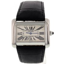 Cartier Tank Divan 2600 Stainless Steel w/ Box