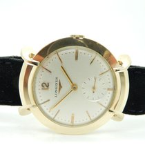 Longines Vintage 14K Yellow Gold 17j 22L Fancy Lugs 34mm Men...