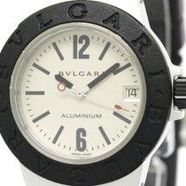 Bulgari Aluminum Rubber Quartz Ladies Watch Al32ta (bf306075)