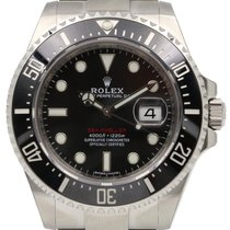 Rolex Sea-Dweller 126600 Black Maxi Dial Stainless Steel...