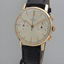 真力时 (Zenith) Chronograph Vintage Cal.146 -Rosegold 18k