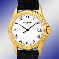 "Patek Philippe Gent's 18K Yellow Gold  # 5117 ""Calatra..."