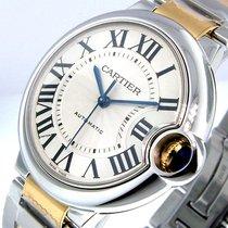 Cartier Ballon Bleu W6920047 37 Mm Midsize Steel Gold Automatic