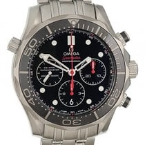 Omega Seamaster Diver 300m Chronograph Stahl Automatik 44mm...