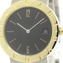 Bulgari Polished  - 18k Gold Steel Quartz Watch Bb33sg (bf303629)