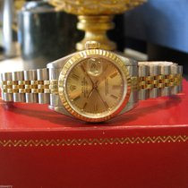 Rolex Datejust Yellow Gold & Stainless Steel Watch With...