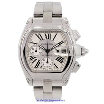 Cartier Roadster XL Chronograph Men's 2618 Pre-Owned