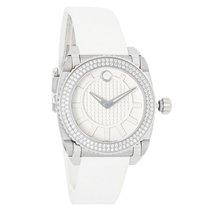 Movado Master Series Ladies Diamond Bezel Swiss Quartz Watch...