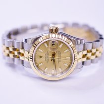 Rolex DateJust Oyster Perpetual 26mm Stainless Steel and 18K...