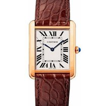 Cartier W5200025 Tank Solo Large Size Quartz in Rose Gold - On...