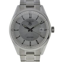 TAG Heuer Carrera Stainless Steel Silver Dial On Stainless...