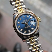 Rolex Lady-Datejust Blue Diamond Dial 26mm