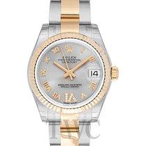 Rolex Datejust Lady 31 Silver Steel/18k gold Dia 31mm - 178273