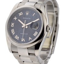 Rolex Used 116200_used_blue_jubilee_roman 36mm Datejust Ref...