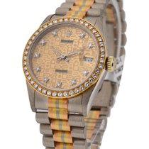 Rolex Used 68278_used_champ_dd Mid Size Tridor President with...